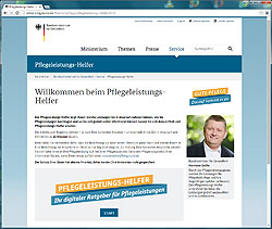 pflegeleistungshelfer screen